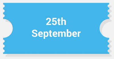 One Day 25th September